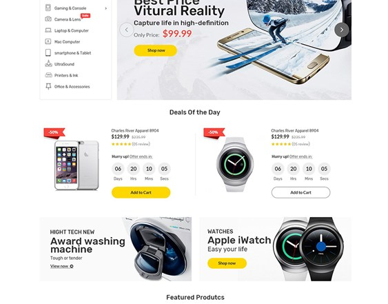 best woocommerce themes for selling electronics feature