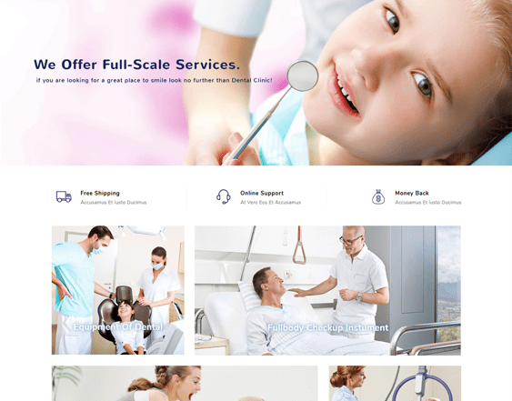 best health medical opencart themes feature