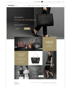 best opencart themes for selling purses handbags backpacks feature
