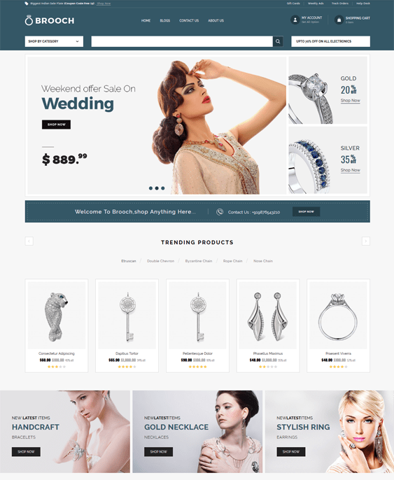 opencart themes for selling jewelry watches