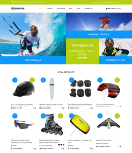 best shopify themes for sports stores feature