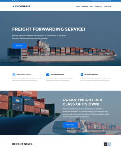 best wordpress themes transportation logistics websites feature
