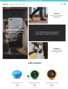 best shopify themes for electronics stores feature