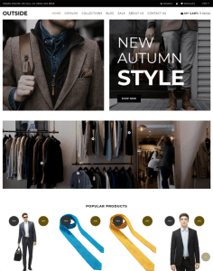 best menswear shopify themes mens clothing fashion stores feature