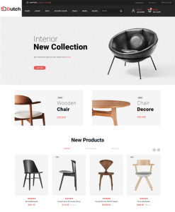 best opencart themes for selling furniture online feature
