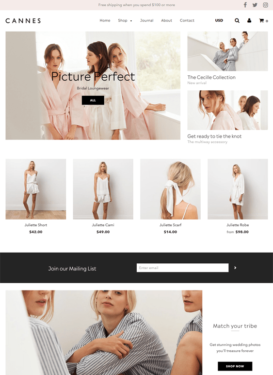 shopify themes for online lingerie underwear stores