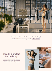 best shopify themes online underwear lingerie stores feature