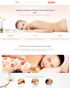 best wordpress themes for massage salons and therapists feature