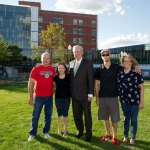 Patient families and staff reunite to celebrate Graffiti Project