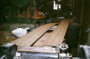 "12"" wide boards resawed with no problem"
