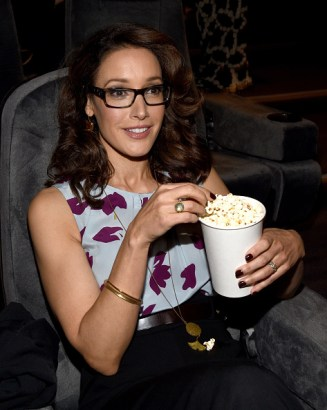 "WEST HOLLYWOOD, CA - APRIL 30: Actress Jennifer Beals attends the ""Proof"" Influencer Screening at The London West Hollywood on April 30, 2015 in West Hollywood, California. 25468_001 (Photo by Michael Buckner/WireImage)"