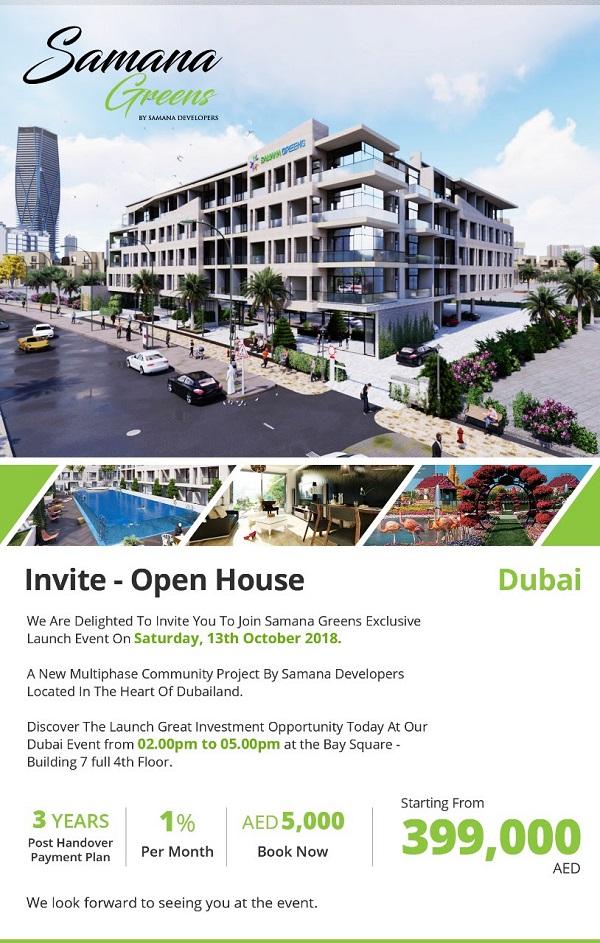 Samana Greens - Invitation Open House