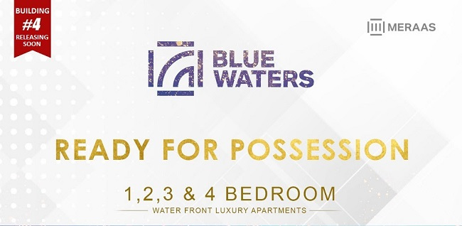 Blue Waters Island Waterfront Luxury Apartments by Meraas