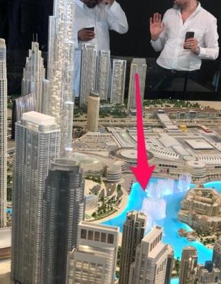 Downtown Views - Dubai - Apartment for Sale - Location
