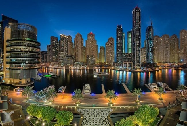 Dubai Marina - Night View