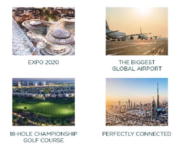 Expo Golf Villas in Parkside by Emaar Amenities