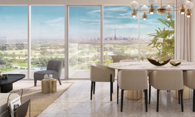 Golf Suites at Dubai Hills by Emaar - Bright Stylish Interiors