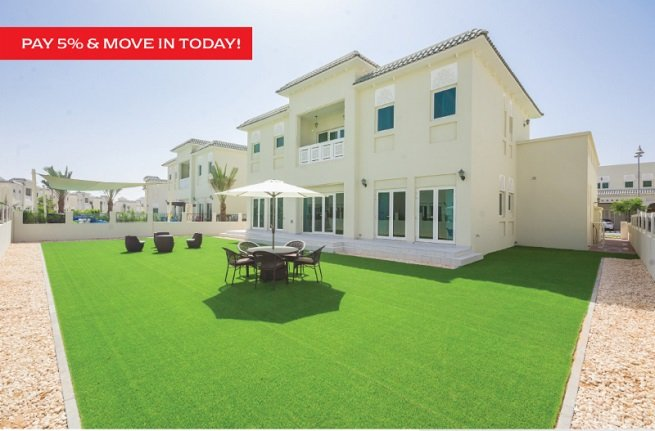 Al Furjan Villas for Sale Pay 5 percent and move in today