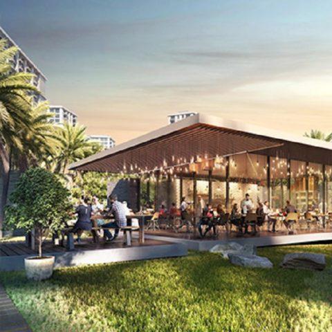 Cafe Pavillion at Dubai Hills Park