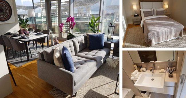 Luxury Apartments in Bluewaters Island Dubai - Interior