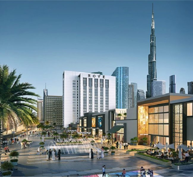 Rove City Walk Hotel Room Investment in Dubai