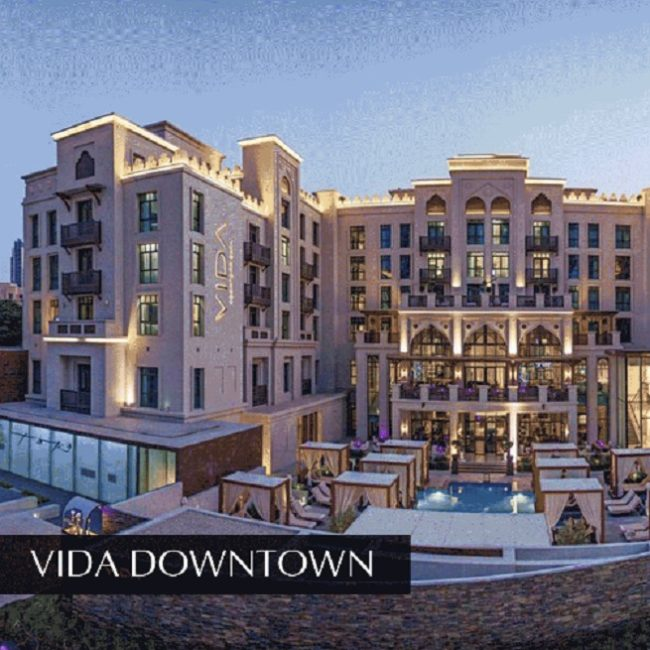 Vida Downtown - Downtown Dubai - Emaar