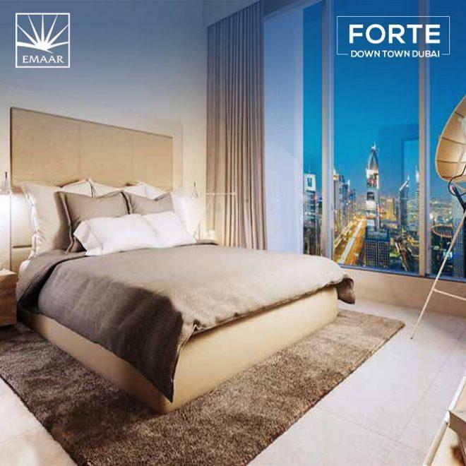 Forte Downtown by Emaar - Dubai - Bedroom