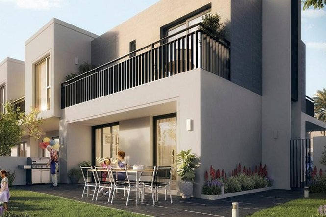 Golf Villas at Dubai South by Emaar -Garden