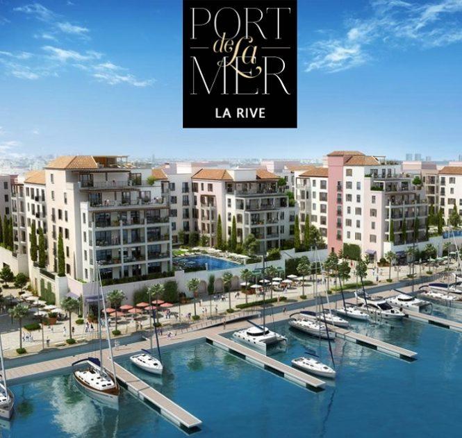 La Rive in Port de La Mer by Meraas Phase 2 Apartments