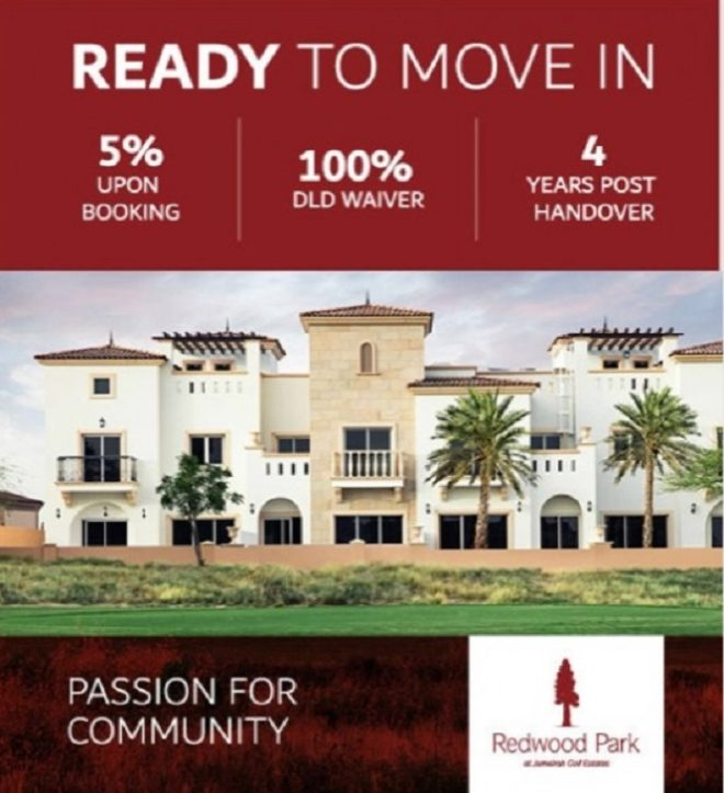 Redwook Park at Jumeirah Golf Estate - Ready Townhouses
