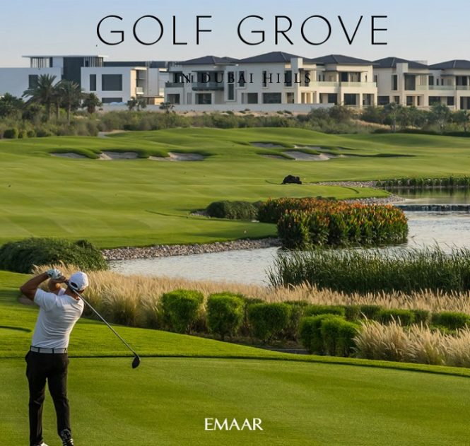 Golf Grove Villas at Dubai Hills Estate by Emaar