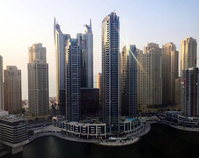 Bay Central Tower Dubai Marina - Overview