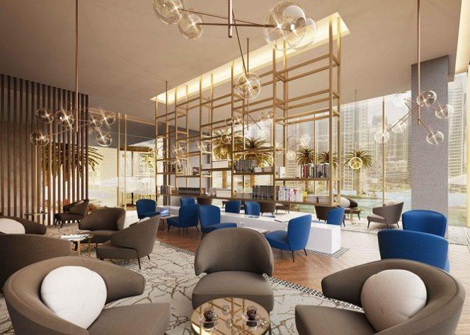 Jumeirah Living Marina Gate - Residents Lounge
