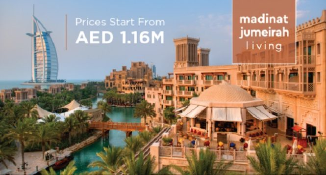 Madinat Jumeirah Living Prices start from 1160000