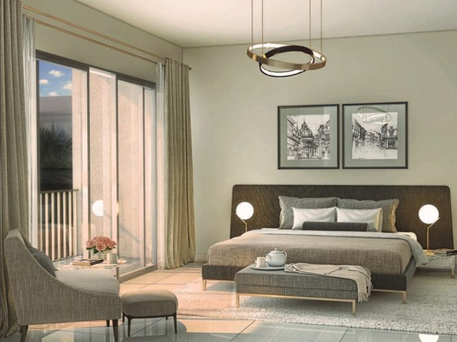 Arabella 3 at Mudon by Dubai Properties Villas - Bedroom