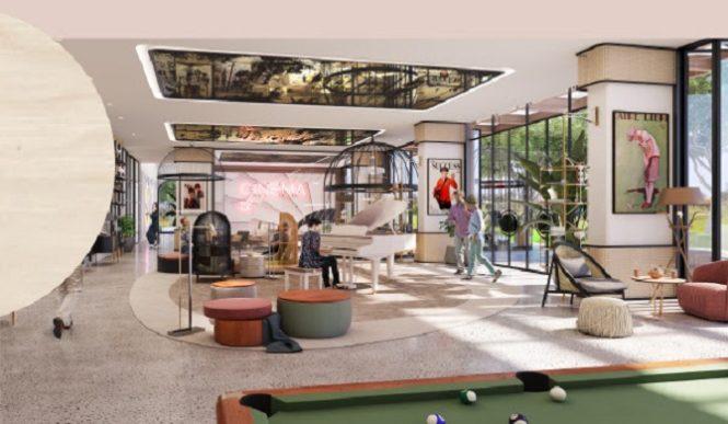 Golfville Apartments at Dubai Hills Estate by Emaar interior