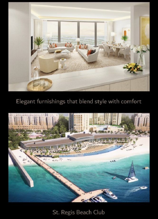 The Palm Tower Residences at Palm Jumeirah by Nakheel - Features