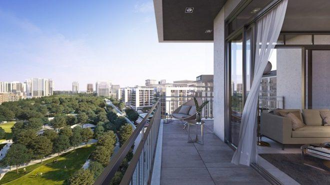 Park Ridge Tower by Emaar- Balcony
