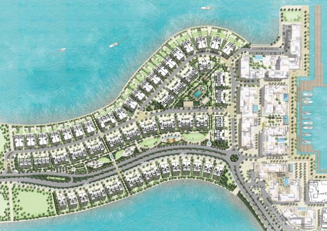 Sur La Mer Townhouses by Meraas in Jumeirah Master Plan