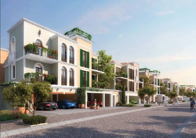 Sur La Mer Townhouses by Meraas in Jumeirah type
