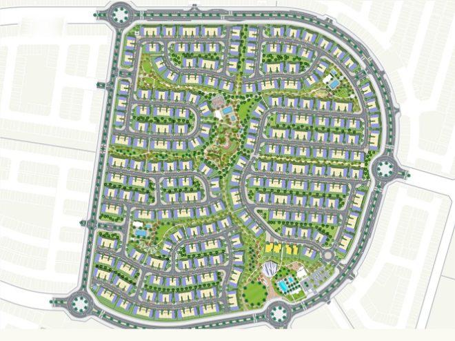 La Rosa - Villanova Dubai. Master Plan