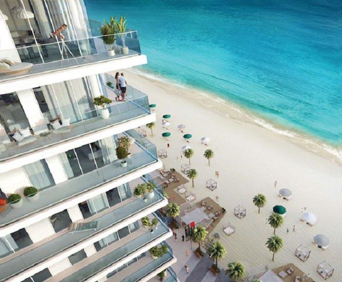 Emaar Beachfront - Sunrise Bay Balcony
