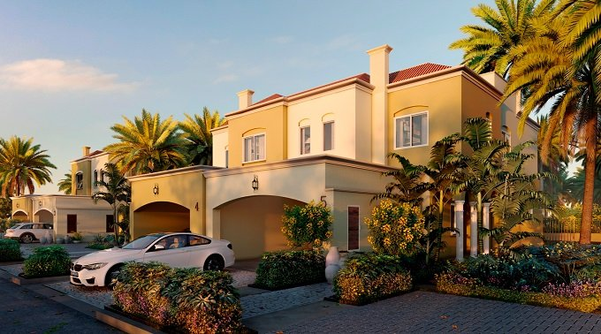 Serena Townhouses at Dubai Land by Dubai Properties -Featured