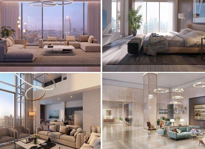 Bellevue Towers by Dubai Properties interior