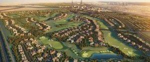 Emaar Golf Grove luxury villas with rooftop terrace