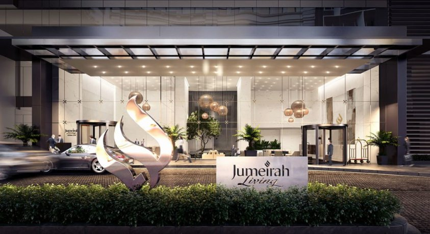 Jumeirah Living Marina Gate - Main Enterance