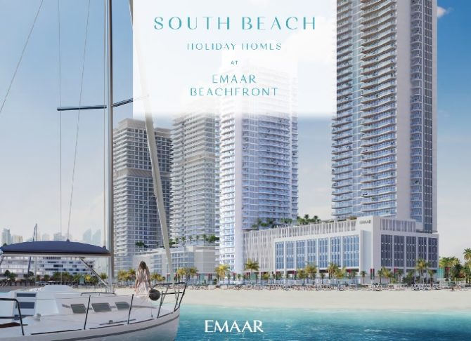 South Beach Waterfront Homes at Emaar Beach