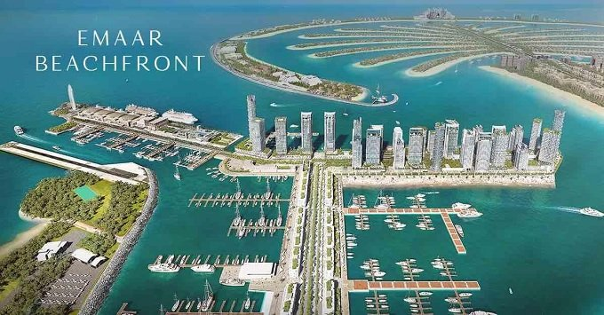 emaar holiday homes at Emaar beachfront fully furnished and managed