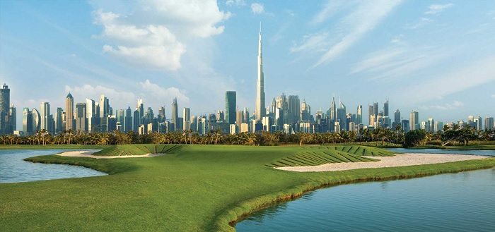 Emaar Golf Grove Views with Roof Top Terrace