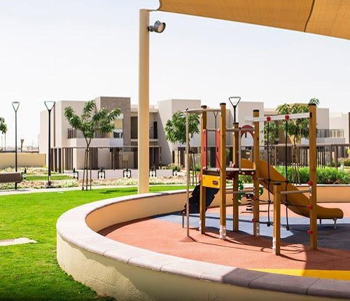 URBANA III Townhouses at Emaar South - district public park